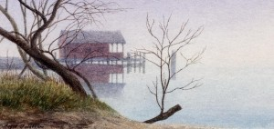 Boat House, Connecticut River, Lyme