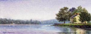 Connecticut River Scene, Lyme, Hamburg Cove
