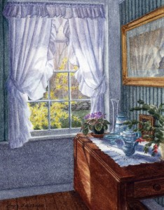 afternoon at home, interiors, vermont