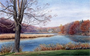 Lieutenant River in Fall, old lyme