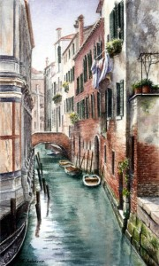 Saturday Afternoon in Venice, italy
