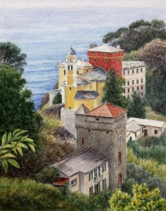 View of Portofino, Italy