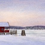 Connecticut River in Winter